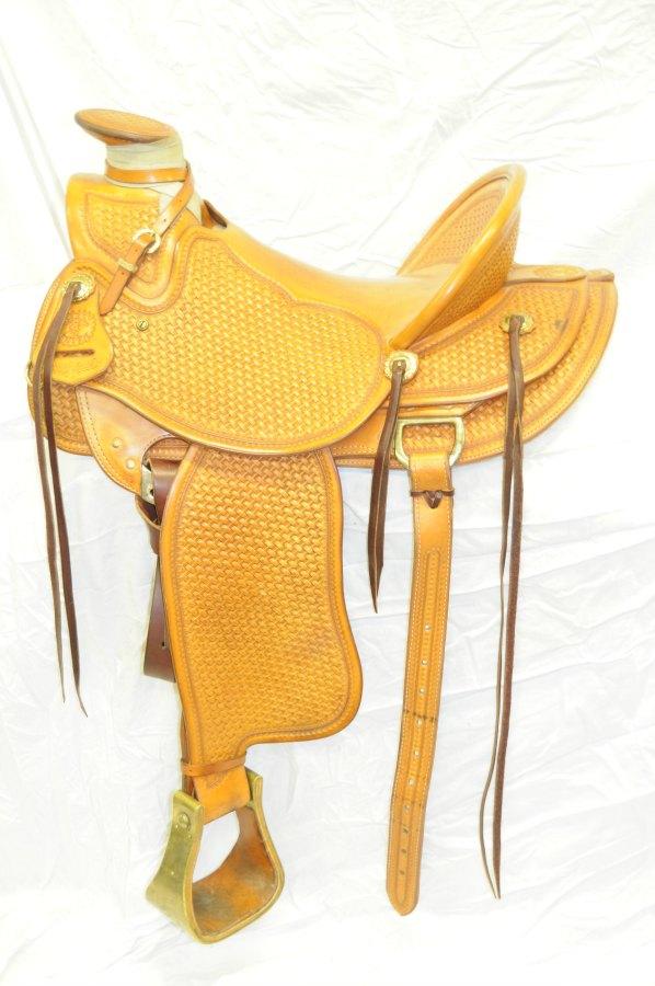 USED Larry Smith Wade Saddle | 1-888-7SADDLE